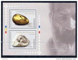 ROMANIA 2006 Constantin Brancusi Block MNH / **.  Michel Block 388 - 1948-.... Republics