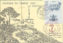 13.  LA CIOTAT. JOURNEE DU TIMBRE AN 1987 - La Ciotat