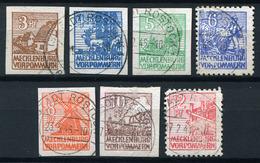 34344) SBZ # 29-36 X Gestempelt Aus 1945, 400.- € - Zona Soviética