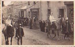 Bourbriac   1          Carte Photo De Lattre Guingamp (Fête Du Minibriac En 1936 ) - France