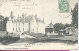 CPA Precurseur SAINT FARGEAU Environs Chateau De La Grange Arthuis Cote Sud - Saint Fargeau