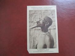 CPA CENTRE AFRIQUE  LA CROISIERE NOIRE UNE FEMME A PLATEAUX - Central African Republic