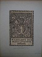 Suisse - Ex-libris Héraldique XVIIème Retirage XIXème - Bâle - Wilhelm Ringg Von Baldenstein - Ex Libris