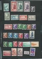 Lot De 28 Timbres De Monaco Des Annees 1940 à 1950 , Tout état  -  Ad327 - Non Classificati