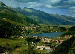 SUISSE  SAINT-MORITZ-BAD UND DORF - GR Graubünden