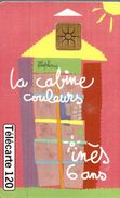 LA CABINE COULEUR  INES 6 ANS - France