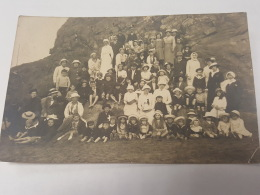 CARTE PHOTO Ancienne GROUPE FEEMMES EN CHAPEAU CPA Animee Postcard - To Identify