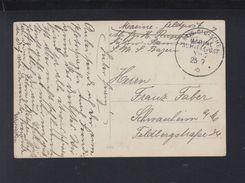 Dt. Reich AK Matrosen Marine Schiffspost No. 7 SMS Bayern - Alemania