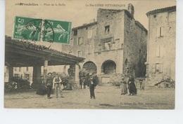 PRADELLES - Place De La Halle - Autres Communes