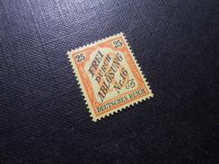 D.R.Mi 14   25Pf*/MLH   Dienstmarken - 1905 - Mi 40,00 € - Ungebraucht