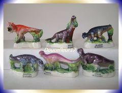 Dinos De Disney ... Serie Complète Ajourée.. Ref AFF :26-2001 ...(pan 0039) - Disney