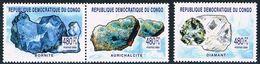 République Démocratique Du Congo - Minéraux 2169/2171 ** - Minéraux
