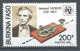 Burkina Faso YT N°835 Samuel Morse Neuf ** - Burkina Faso (1984-...)