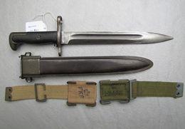 Baionnette Danoise Mod 1950 - Armes Blanches