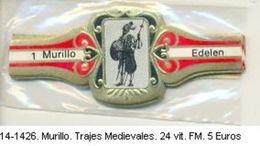 Vitolas Murillo. Trajes Medievales. Ref. 14-1426 - Vitolas (Anillas De Puros)