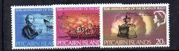 XP3661 - PITCAIRN 1967 , Yvert N. 84/86   ***  Bligh - Pitcairn