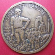 Médaille Coloniale, Alger, FIDE ET LABORE, Par A. POMMIER - France