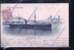 BATEAU MESSAGERIES MARITIMES 1900 - Pêche