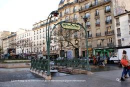 Paris XX (75)- METRO-Station Ménilmontant (Edition à Tirage Limité) - Métro