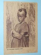 Een Toekomstige Inlandsche Zuster ( WITTE PATERS ) Anno 19?? ( Zie Foto's ) 13,5 X 9 Cm. ! - Christianisme