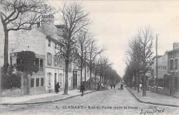 92 - CLAMART : Rue De Paris ( Vers La Gare ) CPA - Hauts De Seine - Clamart