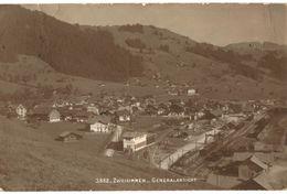 CPA N°14080 - ZWEISIMMEN - GENERALANSICHT - BE Bern