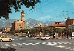 Cartolina Marina Di Carrara Piazza Menconi 1983 - Massa
