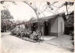 """Photographie à Cestas GAZINET En 1937 Maison """" Cottage Isabelle """" Au 19 Avenue De La Gare - Places"""