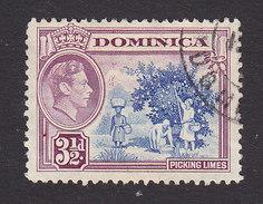 Dominica, Scott #103, Used, Scene Of Dominica, Issued 1938 - Dominique (...-1978)