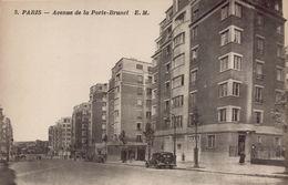 PARIS 20eme - Avenue De La Porte-Brunet - Distrito: 20