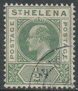 St Helena. 1902 KEVII. ½d Used. SG 53 - Sint-Helena