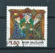 1999 New Zealand $1.80 Christmas,kerst,noël,weihnachten Used/gebruikt/oblitere - Nieuw-Zeeland