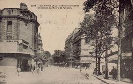PARIS 20eme - Avenue Gambetta Et Station Du Métro Saint-Fargeau - Arrondissement: 20
