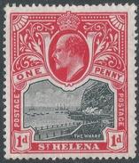 St Helena. 1903 KEVII. 1d MH. SG 56 - Saint Helena Island
