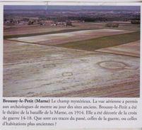 2011  --  MARNE 51  --  BROUSSY LE PETIT  VUE AERIENNE   3D173 - Documentos Antiguos