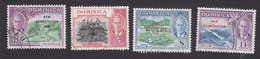 Dominica, Scott #137-140, Used, Scenes Of Dominica Overprinted, Issued 1951 - Dominica (...-1978)