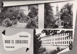 TORINO - Istituto Maria SS. Consolatrice - Via Caprera - Educandato - 3 Vedute - 1957 - Education, Schools And Universities