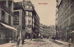 PARIS 20eme - Rue De Belleville, Dépot Du Funiculaire - Distretto: 20