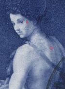 1717 - FL 40 Rp. Gemälde ABART Grosse Retusche - Auf Einschreiben Nach SAN FRANCISCO (USA) - Variétés