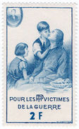 (I.B) France Cinderella : Great War Charity Stamp 2Fr - Europe (Other)