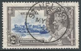 St Helena. 1935 KGV Silver Jubilee. 2d Used. SG 125 - Saint Helena Island