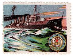 (I.B) Cinderella : Delandre Great War Ships - HMS Defence - 1902-1951 (Kings)