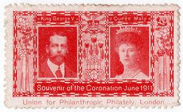 (I.B) Cinderella Collection : George V Coronation 1911 - 1902-1951 (Kings)