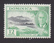 Dominica, Scott #130, Used, George VI And Scene Of Dominica, Issued 1951 - Dominica (...-1978)