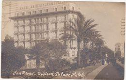 212 - SANREMO RIVIERA PALACE HOTEL ANIMATA 1920 CIRCA - San Remo