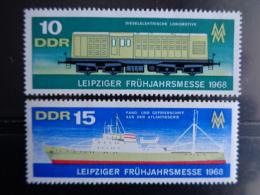 DDR 1968 - MICHEL N° 1349 & 1350 °° - LEIPZIGER FRUHJAHRMESSE - [6] République Démocratique