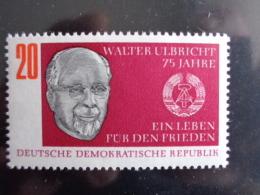 DDR 1968 - MICHEL N° 1383 °° - WALTER ULBRICHT - [6] République Démocratique