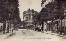 PARIS 20eme - Avenue Gambetta à La Rue Saint Fargeau - Arrondissement: 20