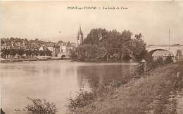 PONT SUR YONNE LES BORDS DE L'EAU - Pont Sur Yonne
