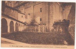 215 - S MARIA DEGLI ANGELI ASSISI PERUGIA BASILICA PATRIARCALE E CAPPELLA PAPALE IL ROSETO MIRACOLOSO 1926 - Perugia